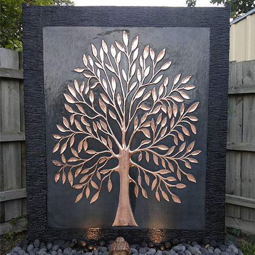 Copper Wall – Tree of Life